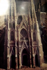 Where do you turn for inspiration? - Photo of poster of St. Patrick's Cathedral by J. Ketchel