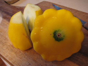Real food from the garden… - Photo by Jan Ketchel
