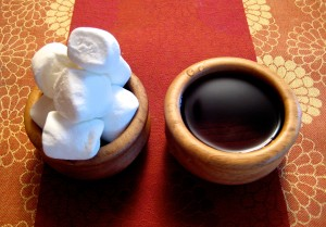 A divided mind is food for thought. The choice? Feed the entities or dip into a pot of serenity? - Photo by Jan Ketchel