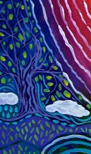 The seeds of who we might become... - Art by Jan Ketchel