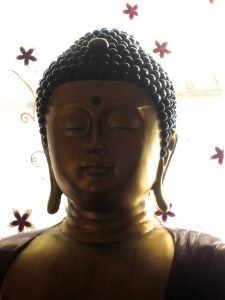 Buddha is a mirror... reflecting the calmness we also have within! - Photo by Jan Ketchel