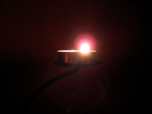 Light a light to light your way.... - Photo by Jan Ketchel